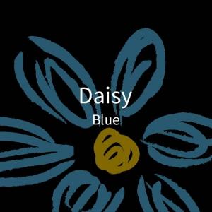 三折黑胶-雏菊-蓝2