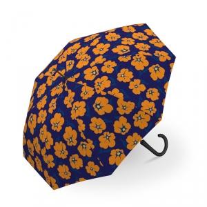 长柄-暖橙色花2