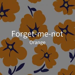 三折-暖橙色花-白2
