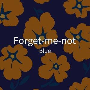三折-暖橙色花-蓝2