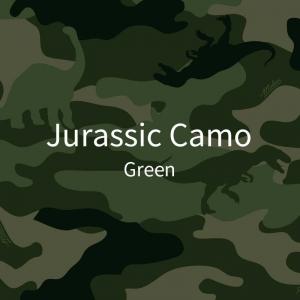 三折-侏罗纪迷彩-绿2